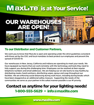Our Warehouses Are Open!